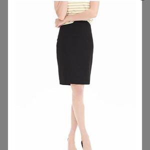 Banana Republic Black Pencil Skirt, Size 2